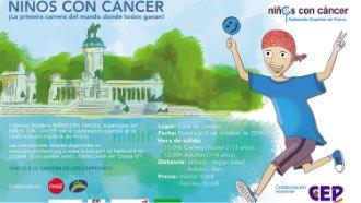 Carrera solidaria niños con cáncer